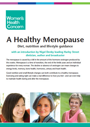 A Healthy Menopause: Diet, Nutrition and Lifestyle Guidance